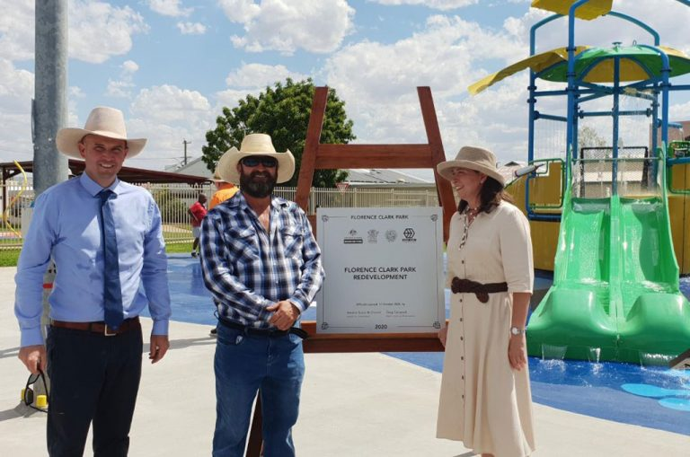 Florence Clark Park Opening