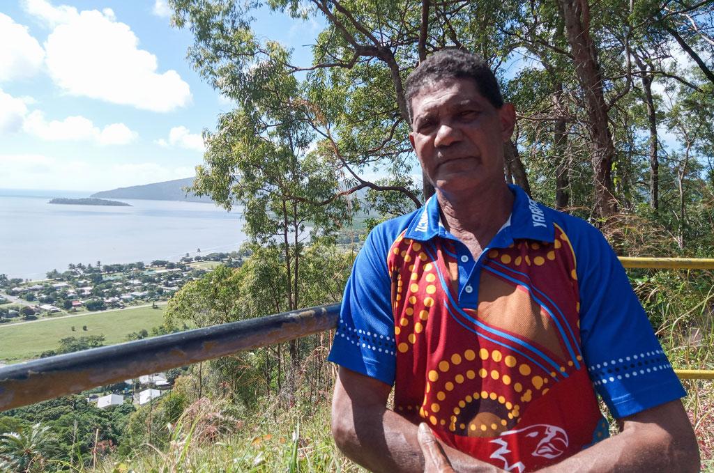 King Vincent Jabaan Shreiber of the Gunggandj tribe